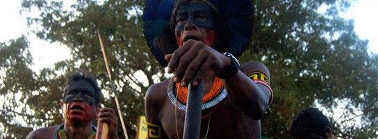 Kilkaset osób blokowało rejon budowy tamy Belo Monte