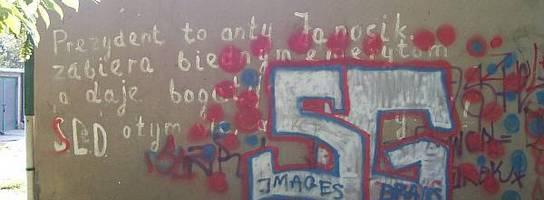 Z historii kieleckiego graffiti